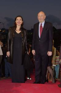 Irvin Kershner and Guest at the Spanish Film Festival.