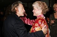 Ellen Burstyn, Harvey Keitel at the celebration of book