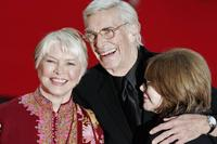 Ellen Burstyn, Martin Landau and Lee Grant at the Actors' Studio red carpet of Rome Film Festival.
