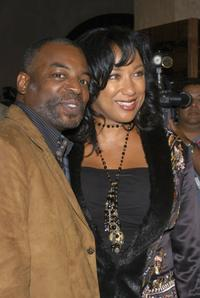Levar Burton and his wife Stephanie Cozart Burton at the