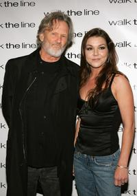 Kris Kristofferson and Gretchen Wilson at the premiere of
