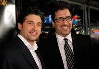 Patrick Dempsey and Richard LaGravenese at the premiere of
