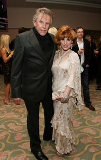 Gary Busey and Kat Kramer at the 17th Annual Night Of 100 Stars Oscar Gala.