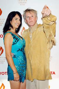 Gary Busey and Kateri Walker at the American Indian College Fund Gala.