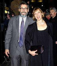 John Landis and Jenny Agutter at the gala screening of