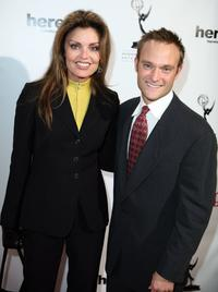 Tracy Scoggins and Chad Allen at the 20th Annual Ribbon Of Hope Celebration.