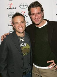 Chad Allen and Robert Gant at the 2007 Sundance Film Festival.