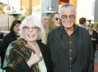 Stan Lee and his wife at the world premiere of