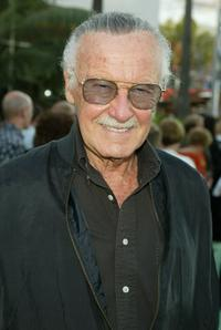 Stan Lee at the world premiere of