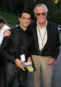 Stan Lee and Tommy Tallarico at Video Games Live at the Hollywood Bowl.