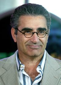 Eugene Levy makes an appearance on MTV's Total Request Live.