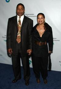 Norm Nixon and Debbie Allen at the Annenberg Foundation's Space for Photography opening night gala.