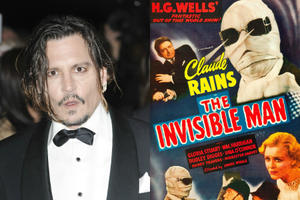 Johnny Depp Is Your New 'Invisible Man' -- Here's What We Know
