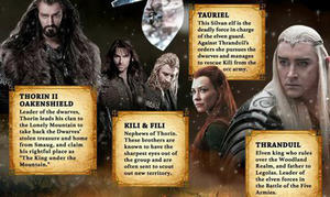 Infographic: 'The Hobbit' Character Guide