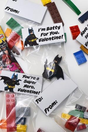 Spread the Love with Lego Valentines