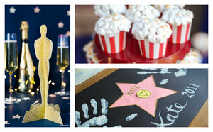 How to Throw a Family-Friendly Oscar Bash