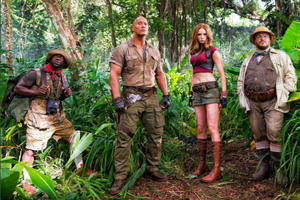 News Briefs: New 'Jumanji' Title and Plot Details Revealed
