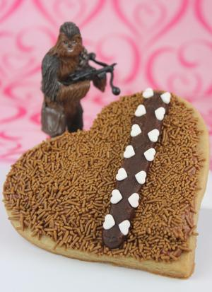 Wookiee Cookies for Your Favorite Valentine
