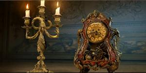 See the New Cogsworth and Lumiere from the 'Beauty and the Beast' Remake