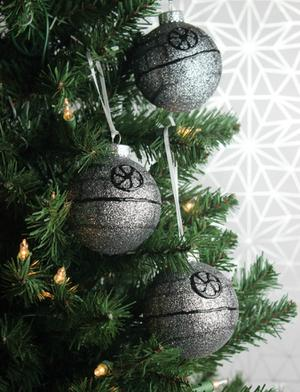 DIY Death Star Ornament Brings 'Star Wars' Home
