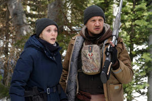 Watch Jeremy Renner and Elizabeth Olsen Chase a Killer in First 'Wind River' Trailer
