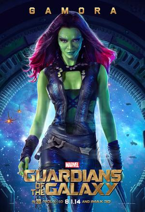 'Guardians of the Galaxy' Exclusive Character Poster: Gamora