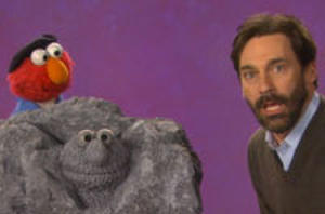 Fun Finds: Jon Hamm Finds His Way to 'Sesame Street'