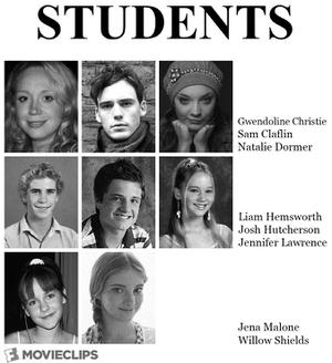 What the Cast of 'The Hunger Games: Mockingjay - Part 2' Would Look Like if They All Went to School Together