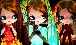 Exclusive: The Looks of Katniss – Original Artwork
