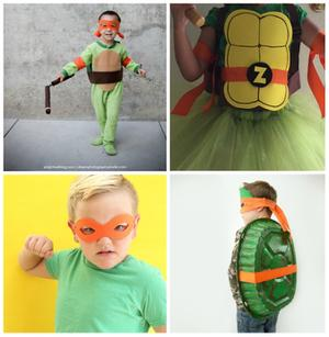 Cute Halloween Costume Ideas for Your Little TMNT