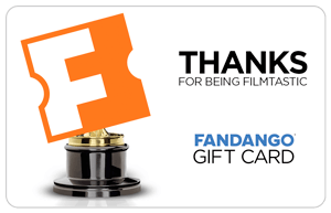 Thank You Awards Movie Gift Card