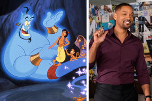 Disney Wants Will Smith to Be the Genie in Its Live-Action 'Aladdin'