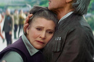 Disney CEO Bob Iger Reassures Fans They Won't Trim Carrie Fisher's Role in 'Star Wars: The Last Jedi'