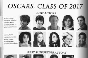 Presenting the Oscars, Best Acting Class of 2017 Yearbook Page