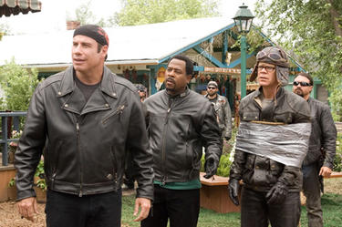 John Travolta, Martin Lawrence and William H. Macy in 
