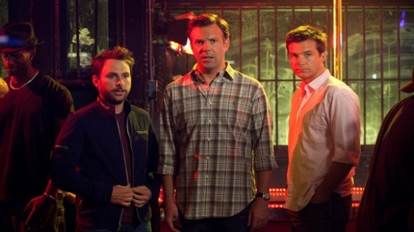 Charlie Day, Jason Bateman, and Jason Sudeikis in Horrible Bosses