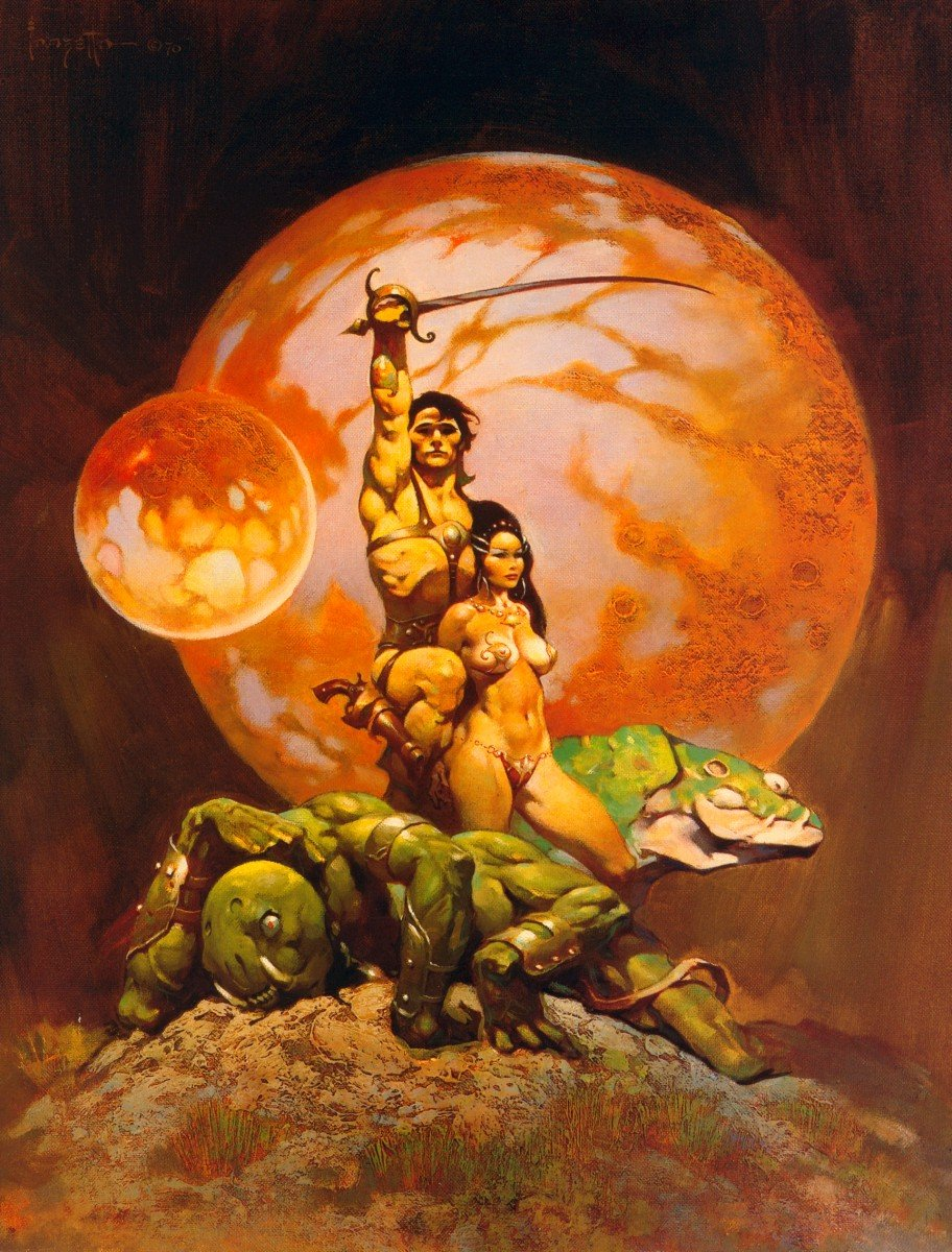 Barsoom Frazetta