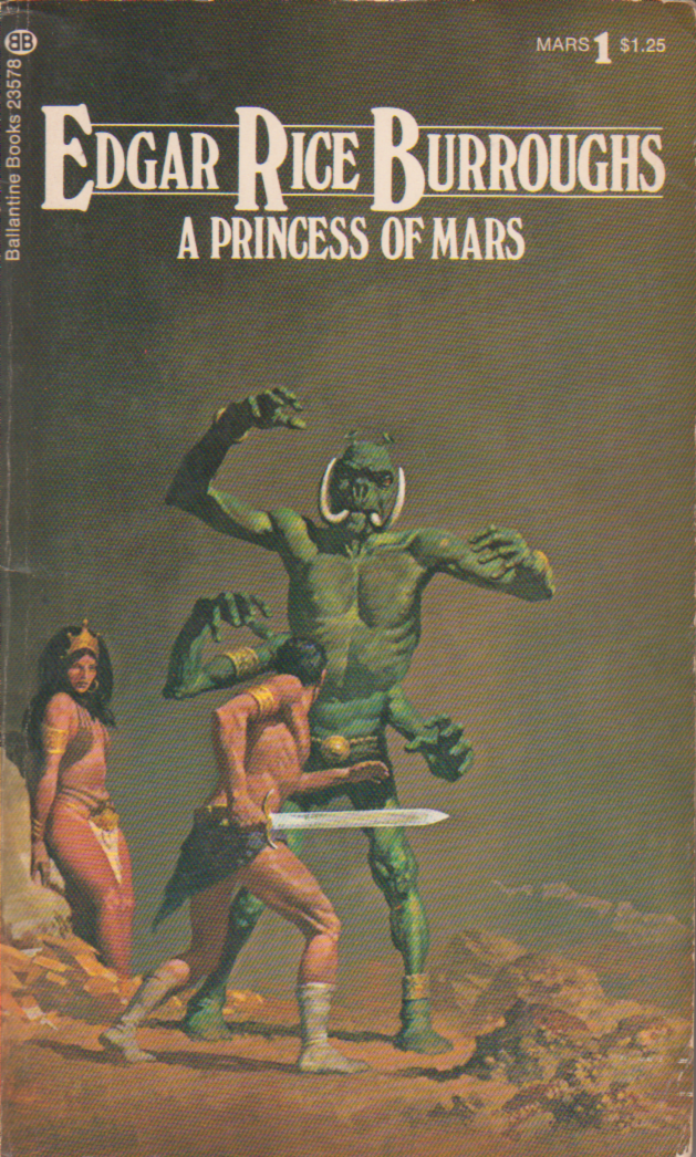 Princess of Mars Book Cover