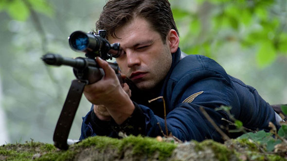 Captain America Rifle Still