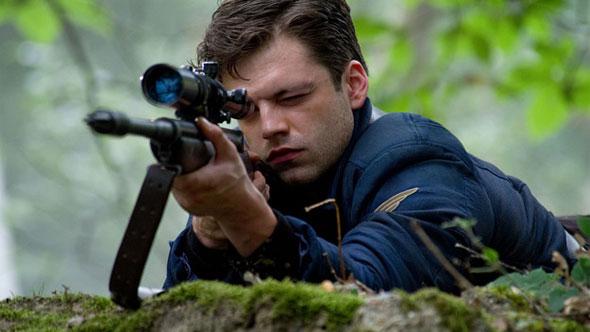 Captain America Rifle Still