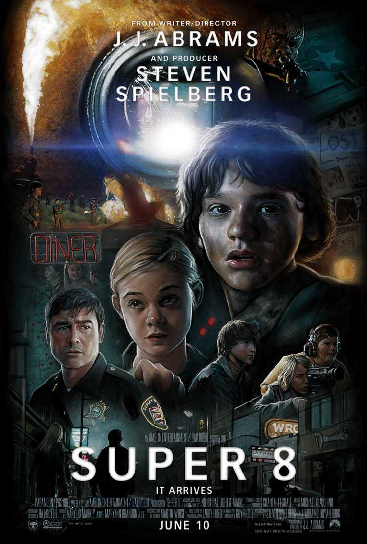 update check out this fan made drew struzan style super 8 poster movie news. Black Bedroom Furniture Sets. Home Design Ideas