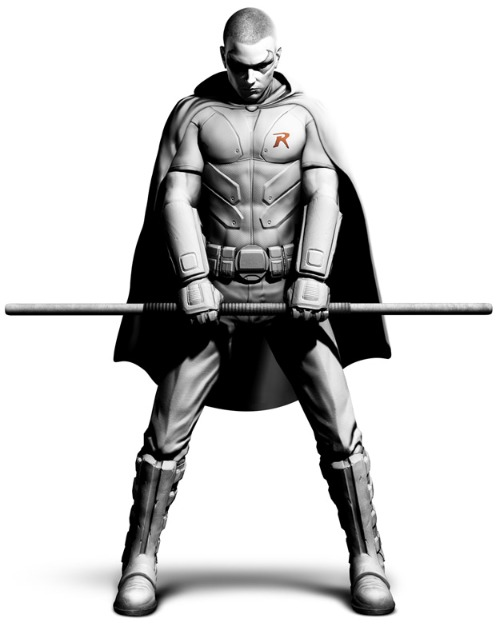 robin batman: arkham city