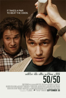 50 50 poster Quick Hits: New Action for Vin Diesel, Kristen Wiigs Next and Who Beat Up Tom Hardy