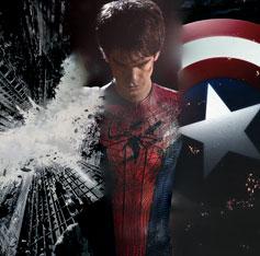 Batman Spider-Man Captain America