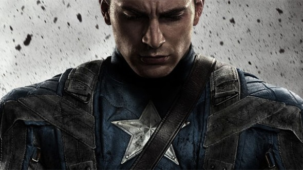 Captain America movie art