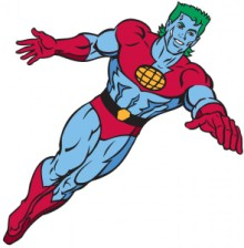 Cartoon Character Captain Planet