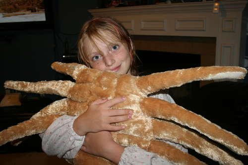 Facehugger Create Your Own Alien Facehugger Plush Pillow