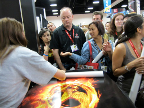 Hunger Games Giveaways at SDCC