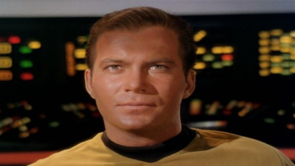 William Shatner as Star Trek's Capt. Kirk