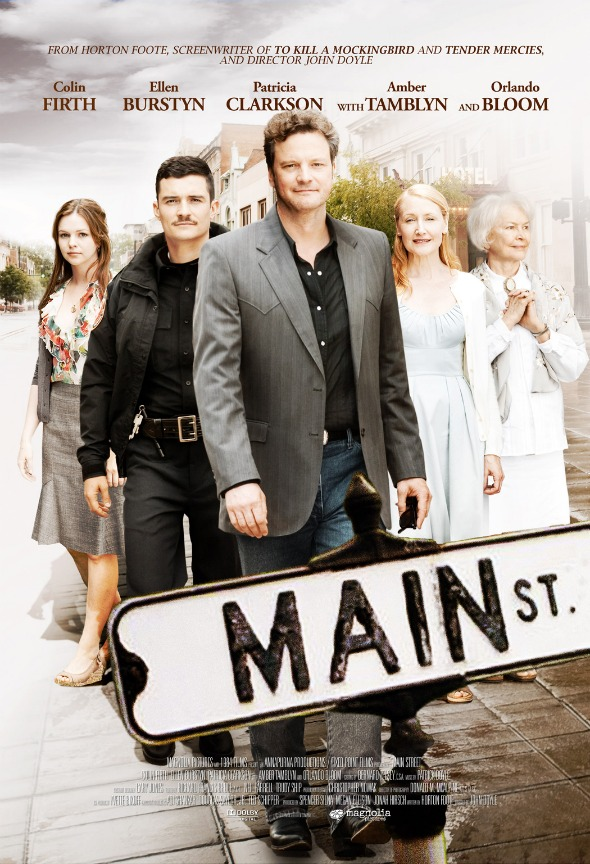 MainStreet smal1 Main Street Poster Premiere: Colin Firth, Orlando Bloom and Patricia Clarkson Lead This Moving Ensemble Drama